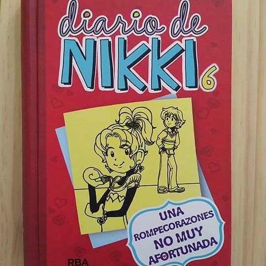 Diario de Nikki: Una rompecorazones no muy afortunada