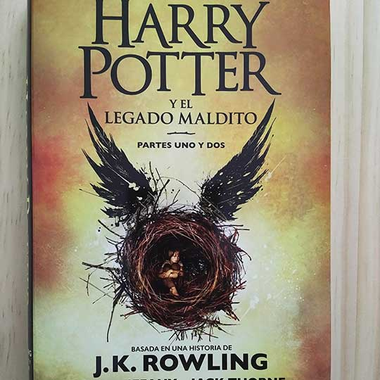 Harry Pottery el legado maldito
