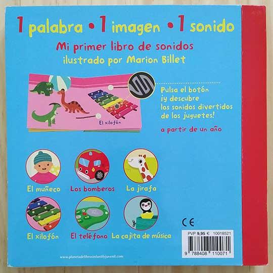 Mi primer libro de sonidos: Los juguetes