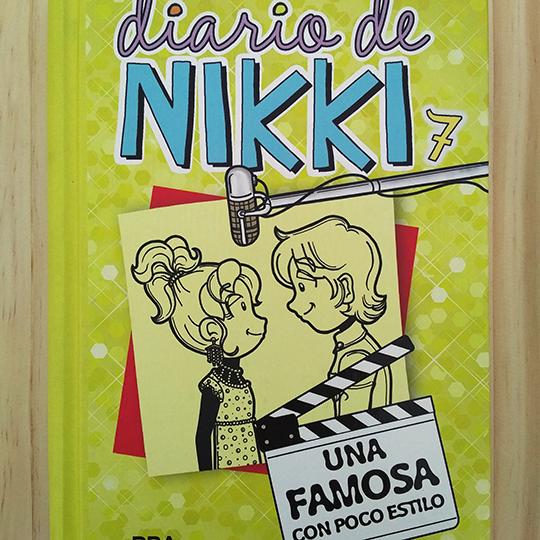 Diario de Nikki: Una famosa con poco estilo