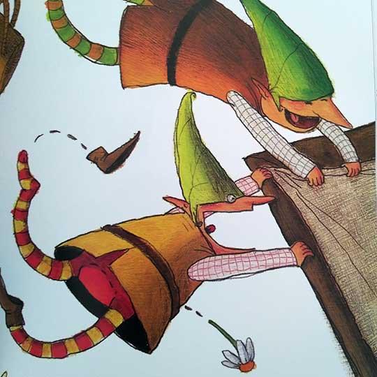 Simón, el duende caprichoso