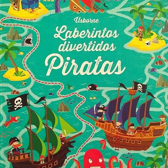 Laberintos divertidos: Piratas