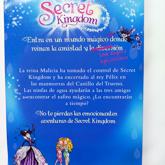 Secret Kingdom: El hechizo del zafiro