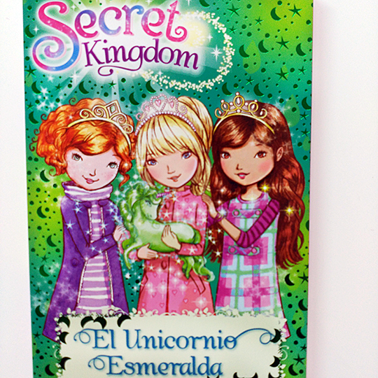 Secret Kingdom: El unicornio esmeralda