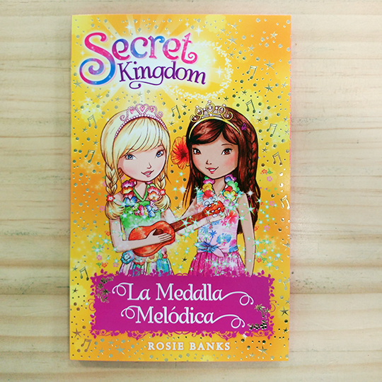 Secret Kingdom: La medalla melódica