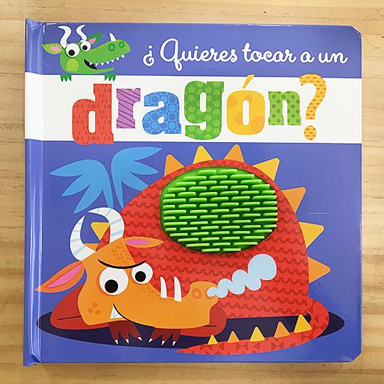 ¿Quieres tocar a un dragón?