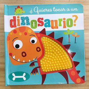 ¿Quieres tocar un dinosaurio?