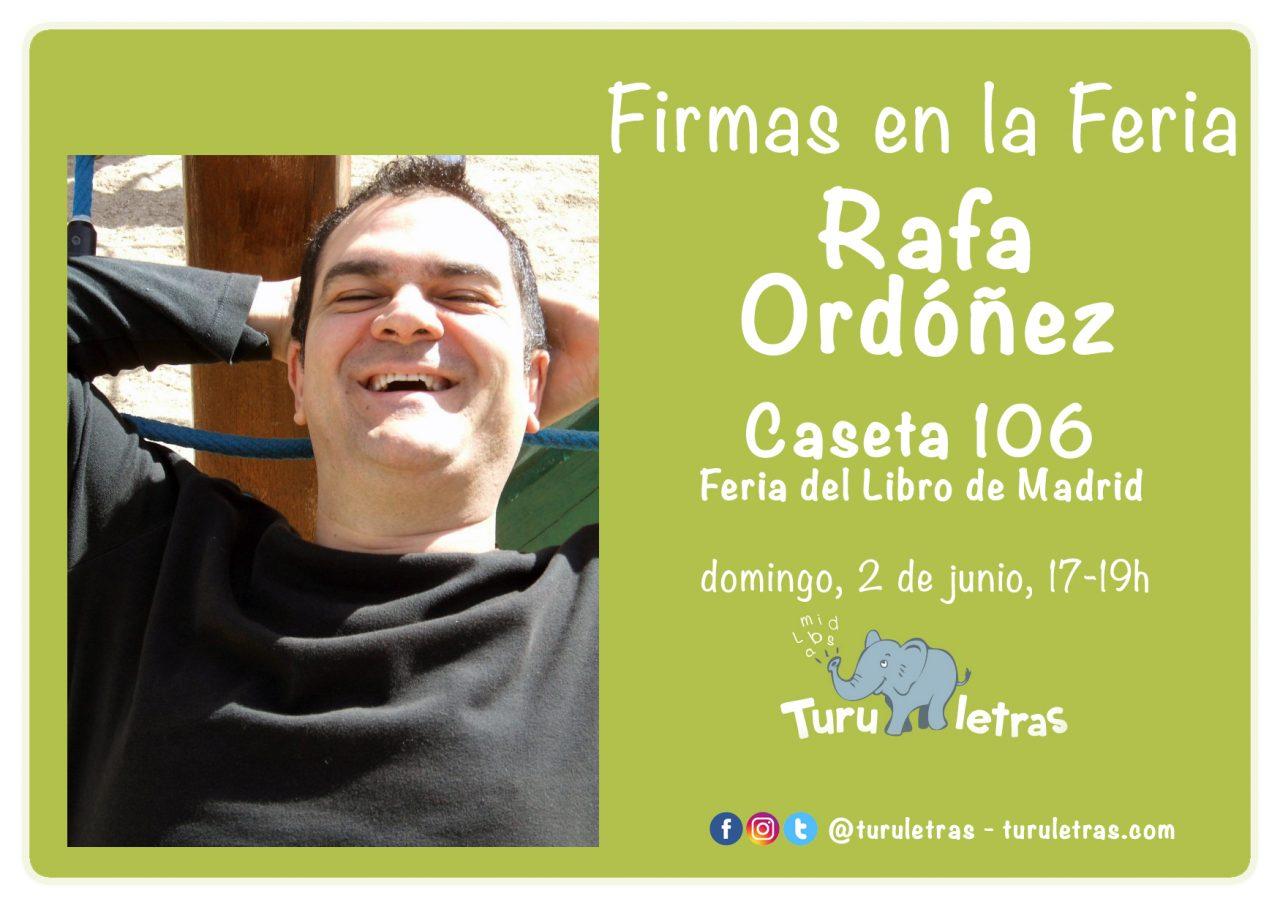 Feria del Libro de Madrid 2019: Firma de Rafa Ordóñez