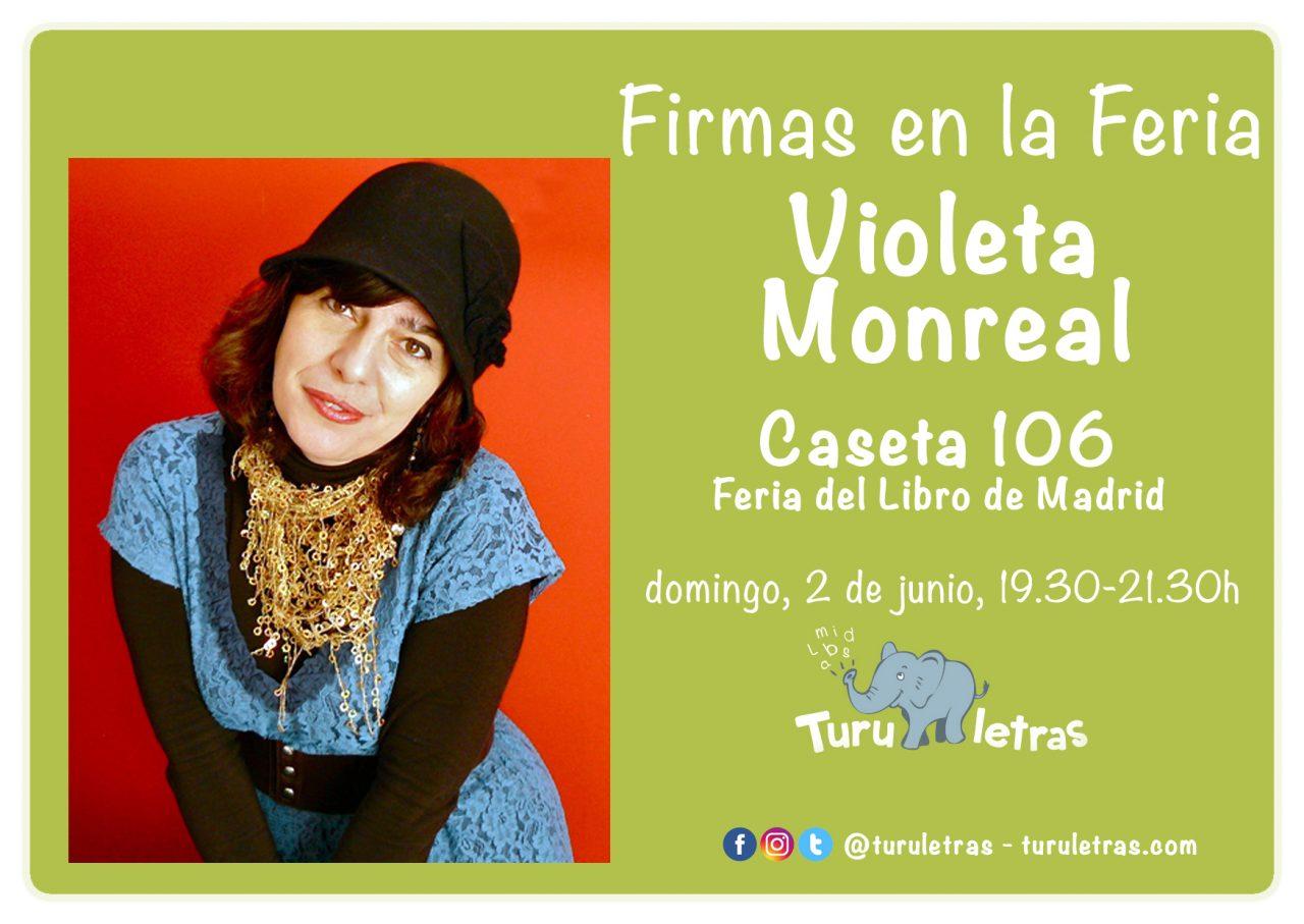 Feria del Libro de Madrid 2019: Firma de Violeta Monreal