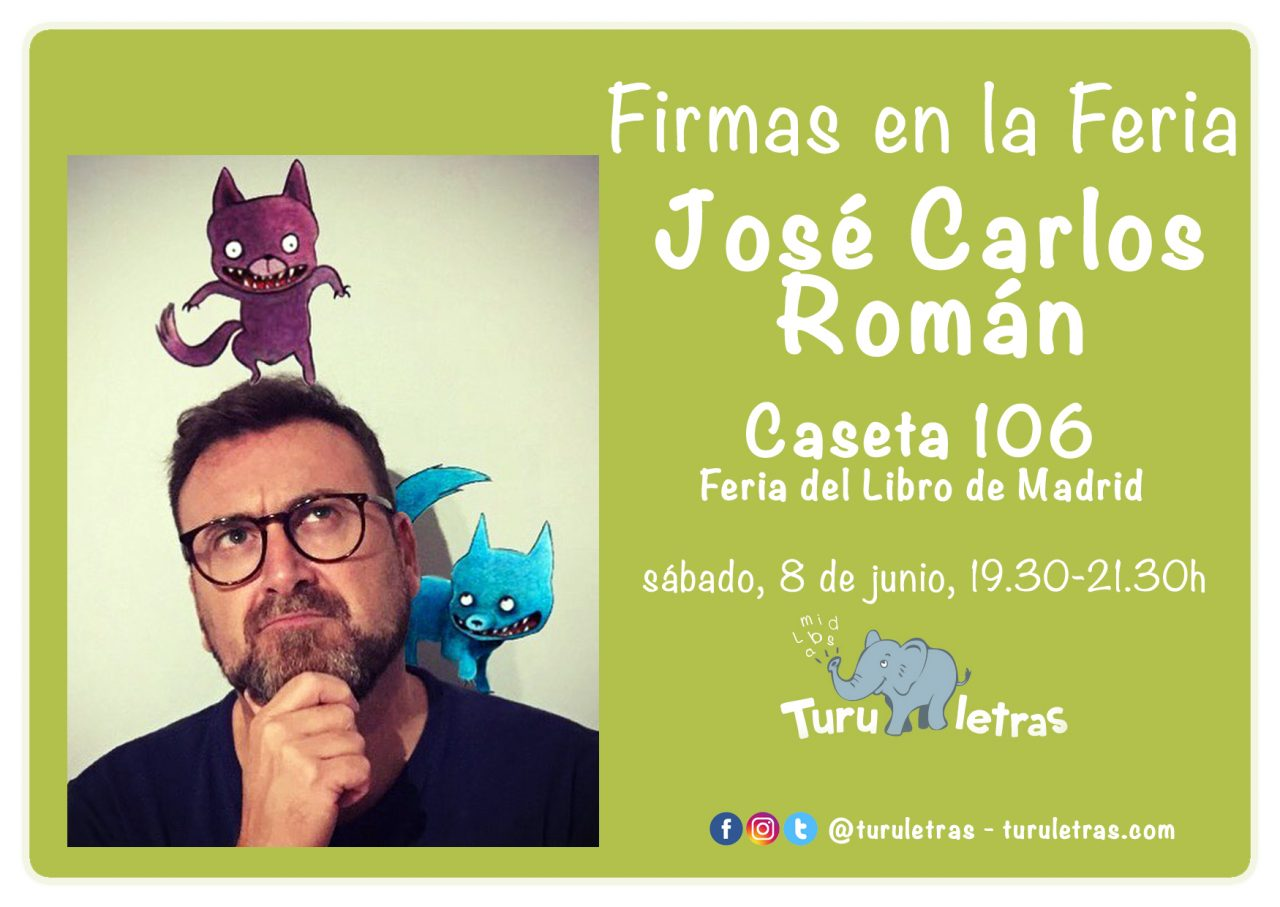 Feria del Libro de Madrid 2019: Firma de José Carlos Román