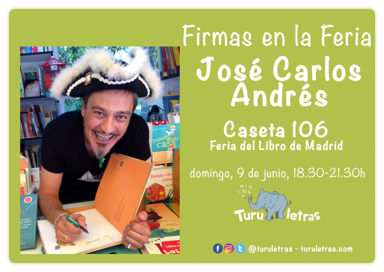 Feria del Libro de Madrid 2019: Firma de José Carlos Andrés