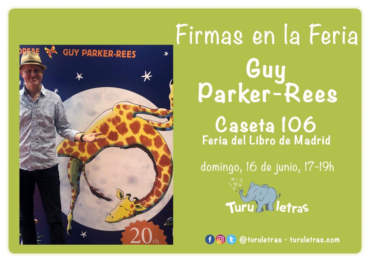 Feria del Libro de Madrid 2019: Firma de Guy Parker-Rees