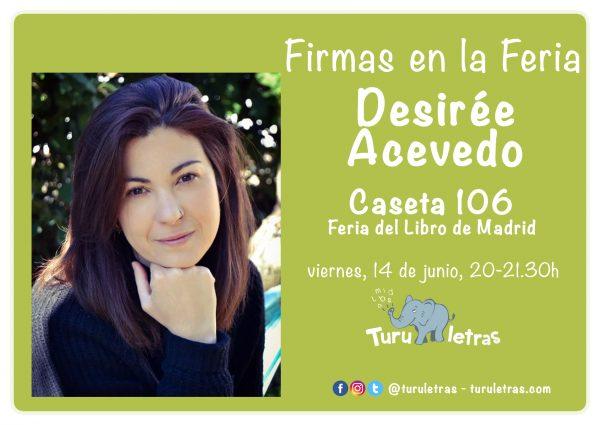 Feria del Libro de Madrid 2019: Firma de Desirée Acevedo