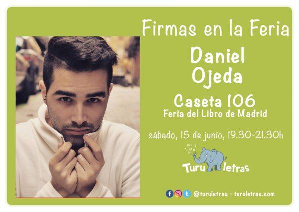 Feria del Libro de Madrid 2019: Firma de Daniel Ojeda