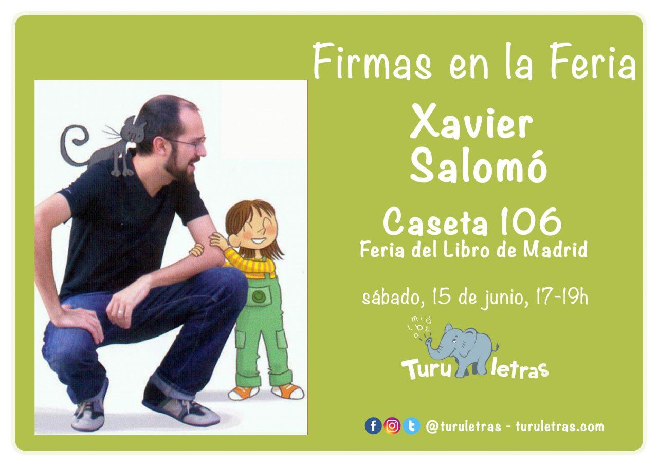 Feria del Libro de Madrid 2019: Firma de Xavier Salomó