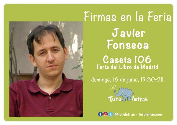 Feria del Libro de Madrid 2019: Firma de Javier Fonseca