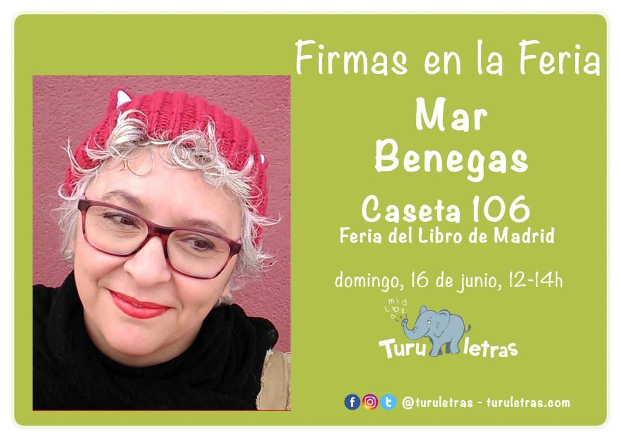 Feria del Libro de Madrid 2019: Firma de Mar Benegas