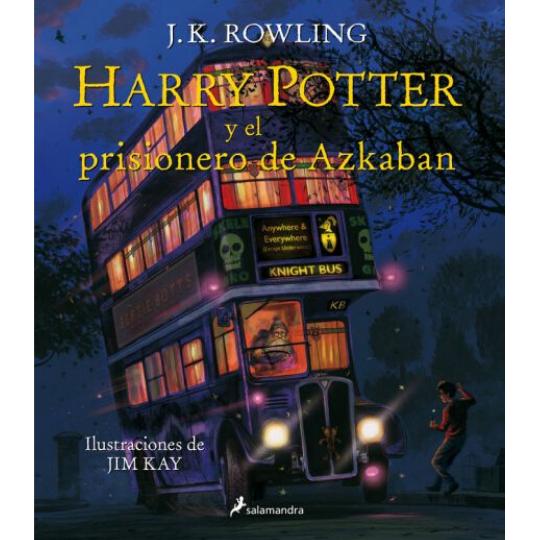 Harry Potter y el Pirsionero de Azkaban Ilustrado