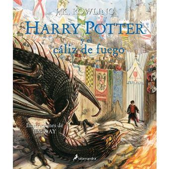 Harry Potter y el cáliz de fuego Ilustrado